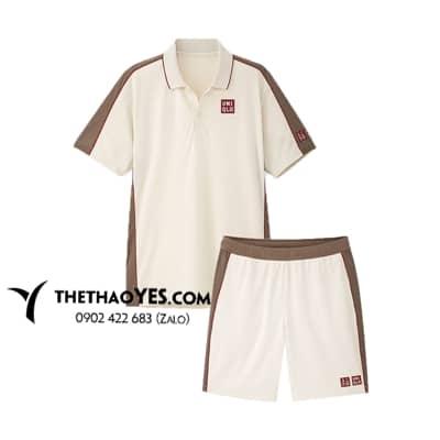 bộ quần áo thể thao trắng