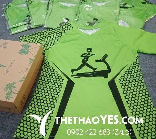 xưởng may quần áo thể thao chạy bộ