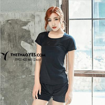 bộ quần áo tập gym nữ quần short
