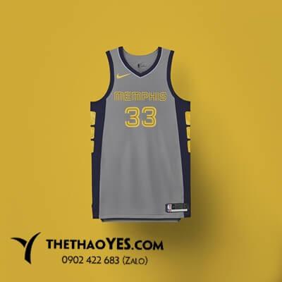 áo thể thao bóng rổ nam