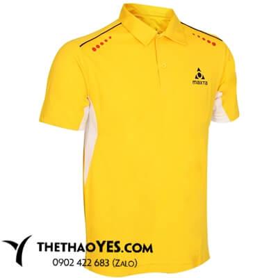 áo thể thao cầu lông nam màu vàng