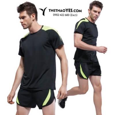 Bộ đồ tập gym nam đẹp quần đùi