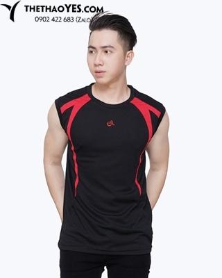 Áo tập gym nam tank top