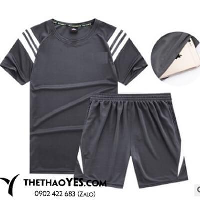 bộ thể thao nam big size quần short