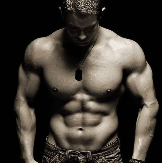 cơ bụng 6 múi