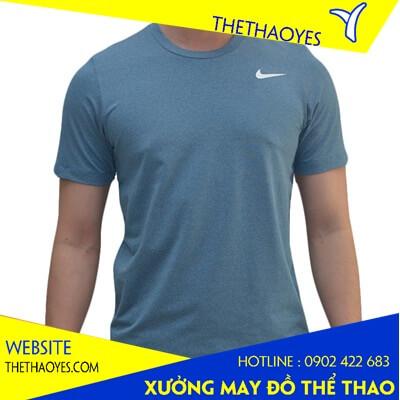 áo thun cổ tròn thể thao nam Nike