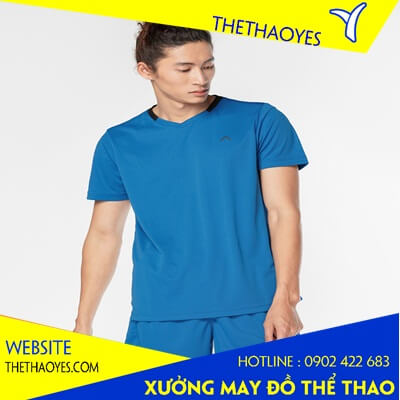 áo thun cổ tròn thể thao nam nữ quận 4