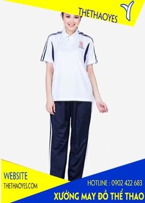 quần áo thể thao nữ hè