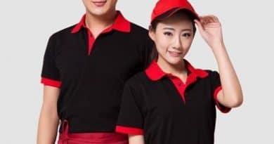 đồng phục nhà hàng vải thể thao