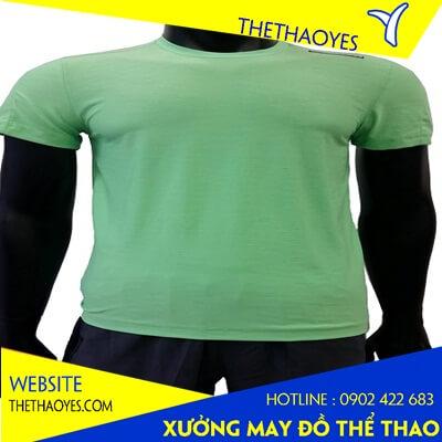 áo thun cổ tròn thể thao nam nữ quận 7