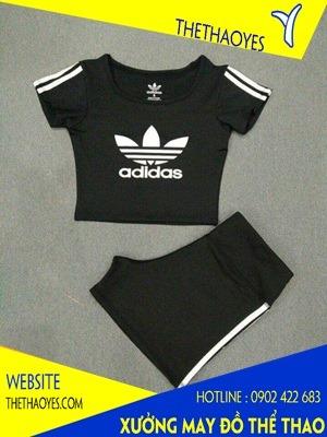 may quần áo thể thao