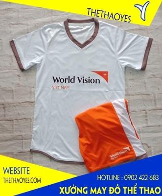 mẫu áo đồng phục thể thao