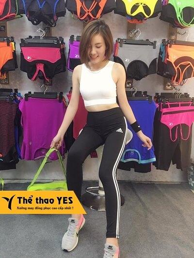 bộ quần áo tập gym nữ adidas