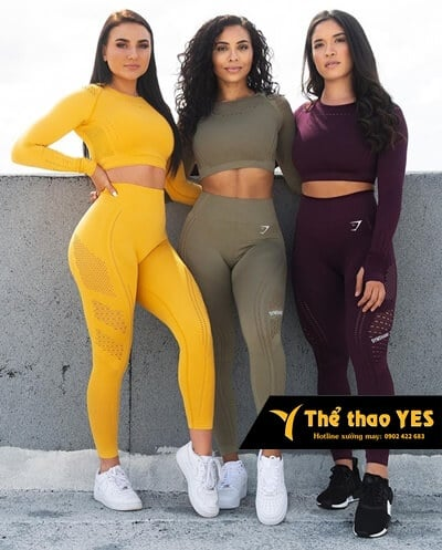 bộ đồ thể thao nữ cao cấp