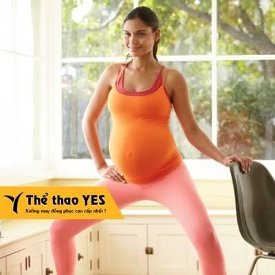 Đặt may đồ tập aerobic dành cho bà bầu quận 11