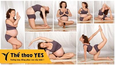Đặt may đồ tập aerobic dành cho bà bầu tốt