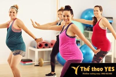 Đặt may đồ tập aerobic dành cho bà bầu hà nội