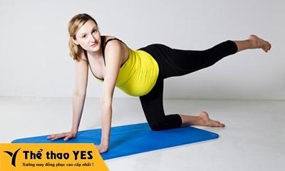 quần tập yoga bầu đẹp
