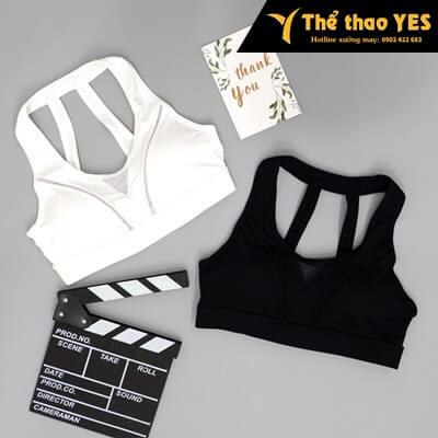 quần áo tập yoga màu trắng