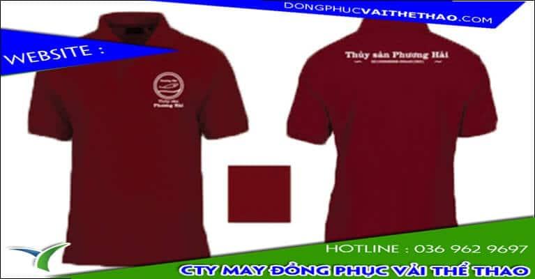cty may áo thun đồng phục