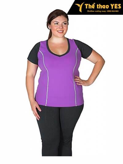 quần áo tập aerobic cho người mập đẹp