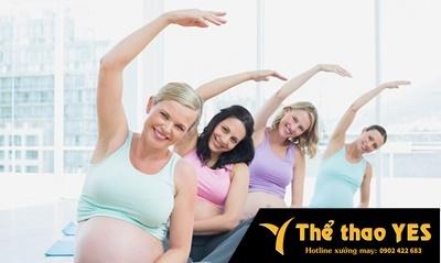 áo tập yoga bầu