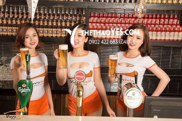 Đồng phục quán beer club