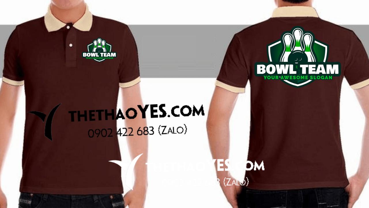 may áo đồng phục cao cấp cho dân bowling