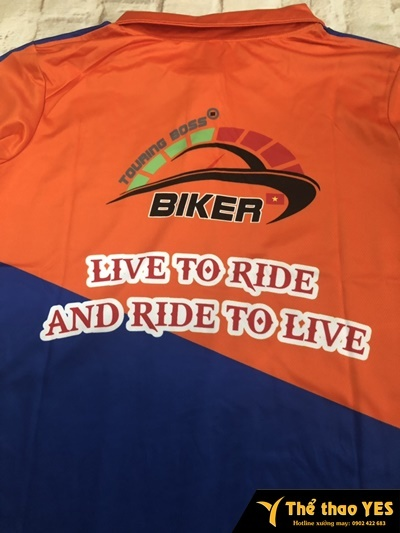áo đồng phục biker hà nội