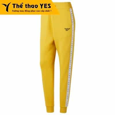 quần jogger vàng
