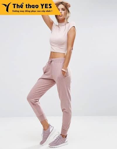 quần jogger nữ cao cấp