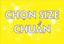 bảng size áo đồng phục Thể Thao Yes