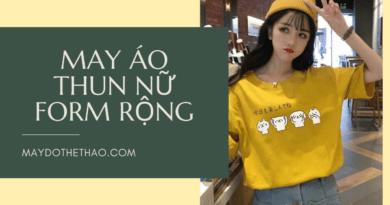 xưởng may áo thun nữ form rộng | Thể Thao Yes