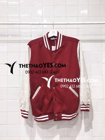 áo khoác bóng chày bé trai