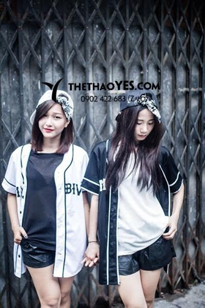 bộ quần áo bóng chày nữ