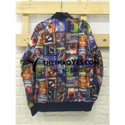 áo khoác bóng chày anime
