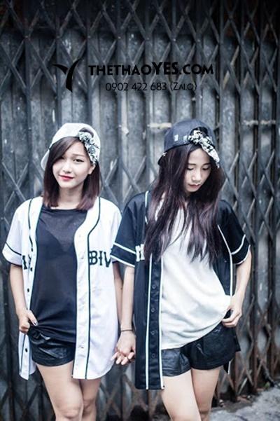 áo bóng chày nữ mùa hè