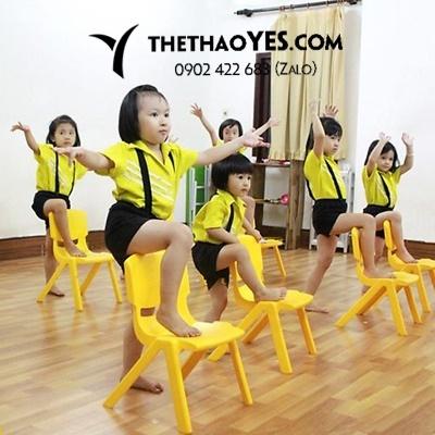 đồ tập aerobic cho bé gái