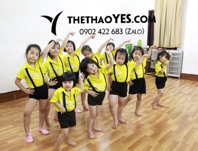 đồ tập aerobic cho trẻ em