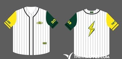 áo khoác thun nữ bóng chày