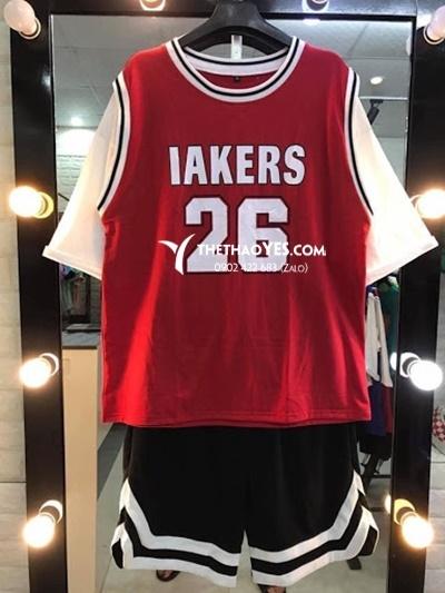 quần áo thể thao chơi bóng rổ cho nam