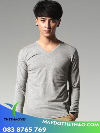 áo thun tay dài nam giá rẻ