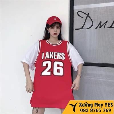 xưởng may áo bóng rổ nam nữ có tay rẻ