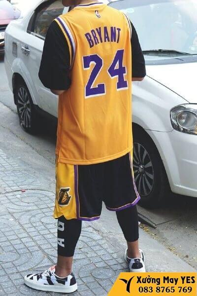 may áo bóng rổ