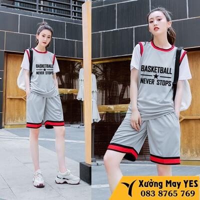 may áo bóng rổ nam nữ rẻ