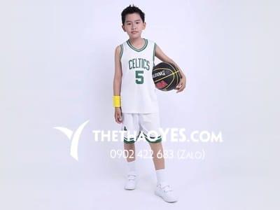 quần áo bóng rổ trẻ em