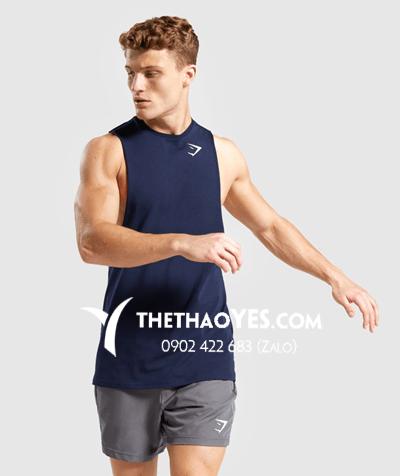 xưởng may quần áo thể thao nam tay dài