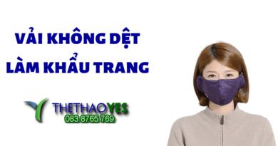Sản Xuất Vải Không Dệt Làm Khẩu Trang
