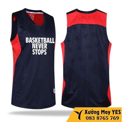 may quần áo bóng rổ