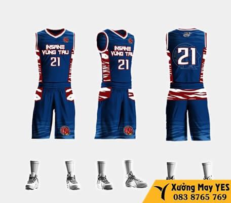 đồng phục bóng rổ giá rẻ